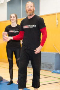 This father daughter duo Sean & Naomi McCauley from Formidable Combative will be equipping students with moves on how to protect themselves through jiu-jitsu at 11am